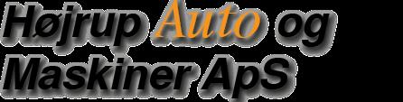 Højrup Auto og Maskiner ApS