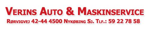 Verins Auto og Maskinservice -