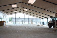 Loftet er snart færdig.