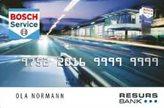 Bosch Betalingskort Forside