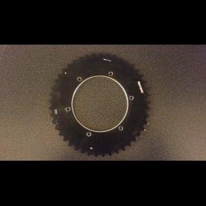 Bagtandhjul i Aluminium - billede 1