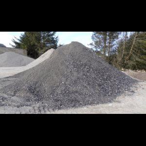 Knust asfalt - billede 1