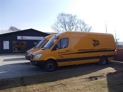 Mercedes Sprinter JCB Bott - billede 1