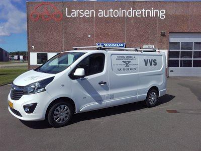 Bott bilindretning Opel Vivaro Smede og vvs bil - billede 1