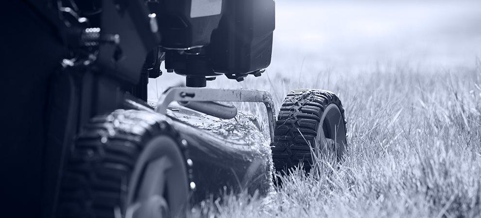 Salg, service og reparation af have- parkmaskiner
