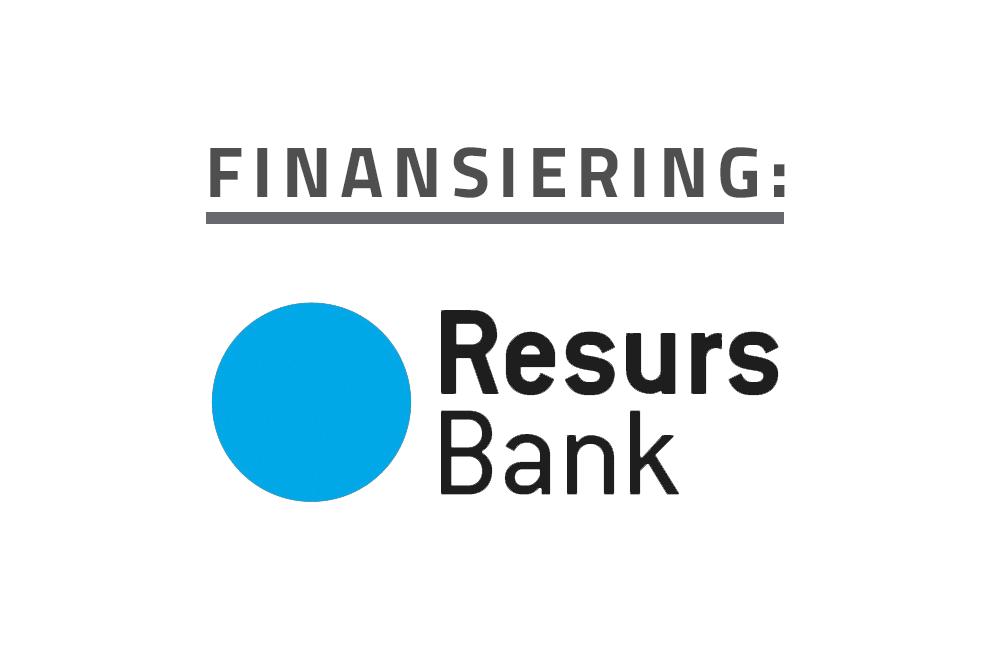 Finansiering via Resurs Bank