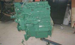 Så er motoren ved at være klar til montering