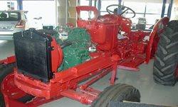 Nu begynder det at ligne en traktor igen.