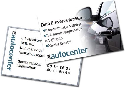 Erhvervskort