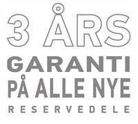 3 aars garanti