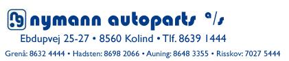 Nymann Autoparts A/SNymann Autoparts A/S - Altid en del foran... -