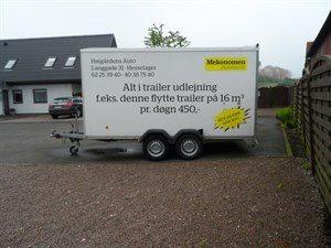 Nye Trailerudlejning @ Højgårdens Auto - Hesselager, Gudme, Svendborg TE-96