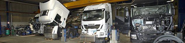 Opbygning af lastbiler - IVECO Padborg
