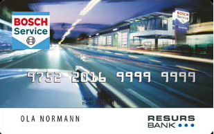 BCS-Betalingskort